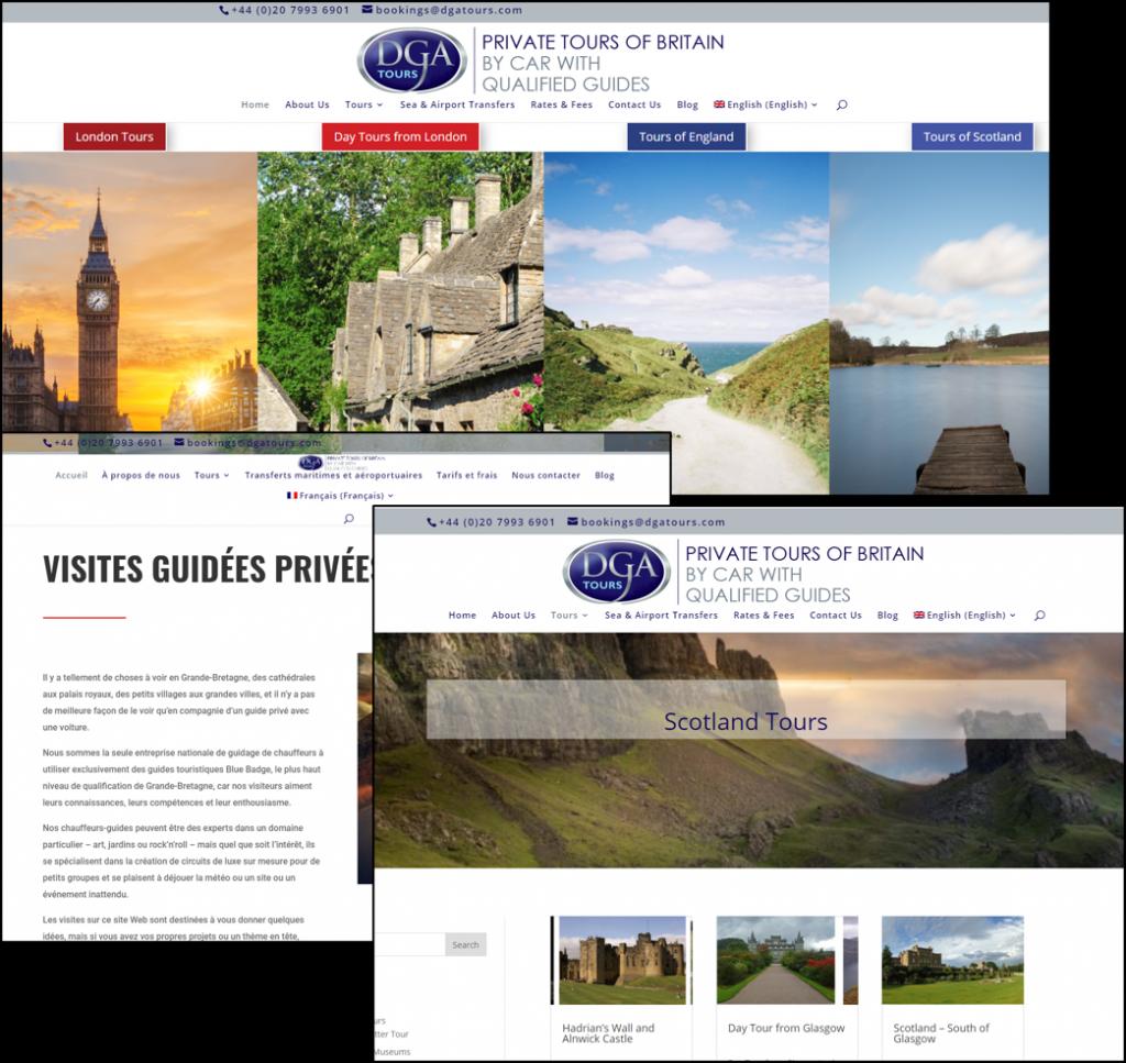Website design Cheshire | multilingual site
